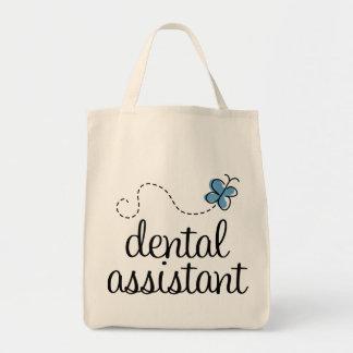 Niedlicher Zahnarzthelfer Einkaufstasche