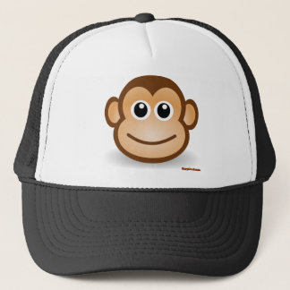 Niedliches Affe-Gesicht Truckerkappe