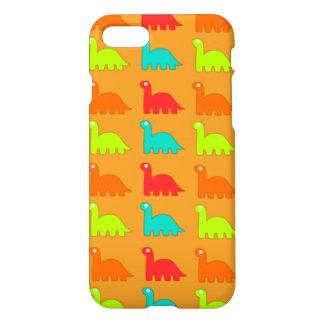Niedliches Dino-Muster-gehende Dinosaurier iPhone 8/7 Hülle