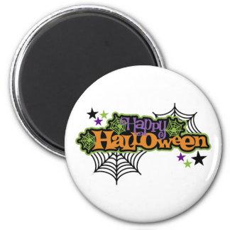 Niedliches festliches glückliches Halloween Runder Magnet 5,1 Cm
