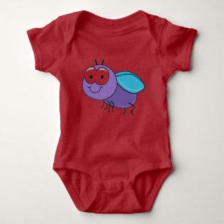 Niedliches Insekt Baby Strampler