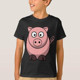 Niedliches lustiges Schwein T-Shirt