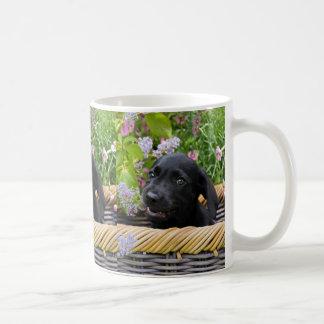 Niedliches schwarzes tasse