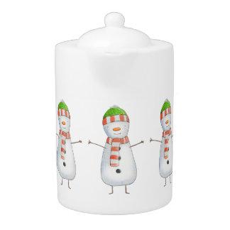 Niedliches Snowman-Muster-Weihnachten