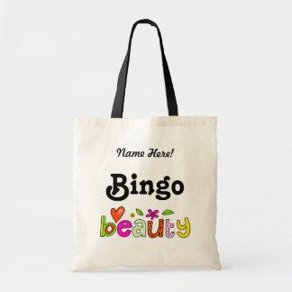 Niedliches Spaß-Bingo personifizieren Prize Tragetasche