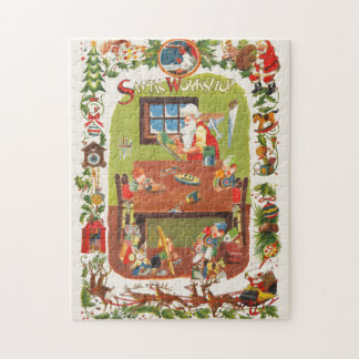 Niedliches Weihnachtspuzzlespiel Puzzle