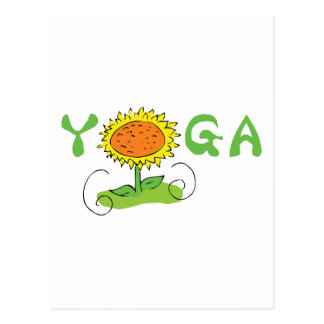 Niedliches Yoga Postkarten