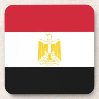 Niedrige Kosten! Ägypten-Flagge Getränkeuntersetzer