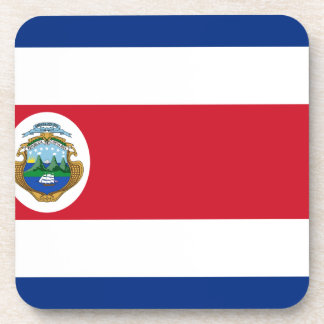 Niedrige Kosten! Costa Rica-Flagge Untersetzer