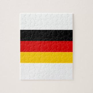 Niedrige Kosten! Deutsche Flagge Puzzle