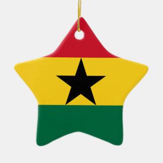 Niedrige Kosten! Ghana-Flagge Keramik Ornament