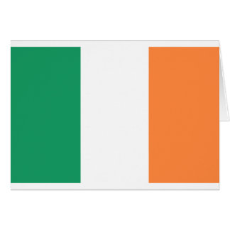 Niedrige Kosten! Irland-Flagge Grußkarte