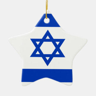 Niedrige Kosten! Israel-Flagge Keramik Ornament