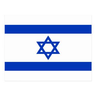 Niedrige Kosten! Israel-Flagge Postkarte