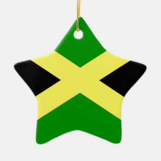 Niedrige Kosten! Jamaika-Flagge Keramik Stern-Ornament