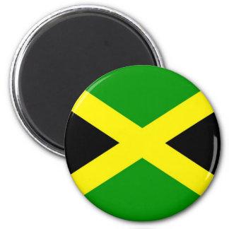 Niedrige Kosten! Jamaika-Flagge Runder Magnet 5,7 Cm