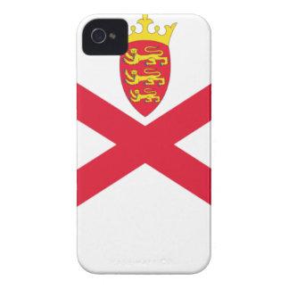 Niedrige Kosten! Jersey-Flagge iPhone 4 Case-Mate Hülle