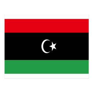 Niedrige Kosten! Libyen-Flagge Postkarte