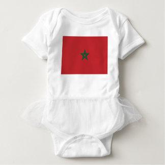 Niedrige Kosten! Marokko-Flagge Baby Strampler