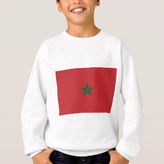 Niedrige Kosten! Marokko-Flagge Sweatshirt
