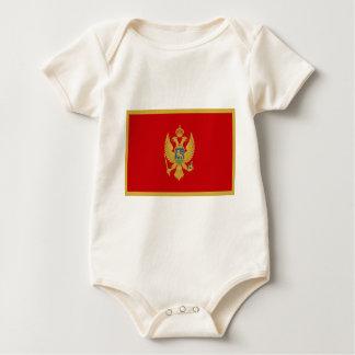 Niedrige Kosten! Montenegro-Flagge Baby Strampler