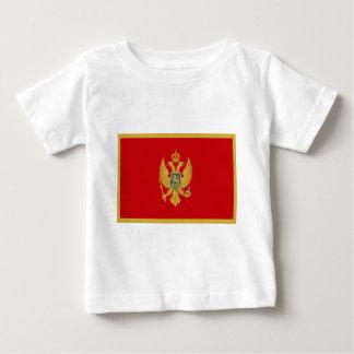 Niedrige Kosten! Montenegro-Flagge Baby T-shirt