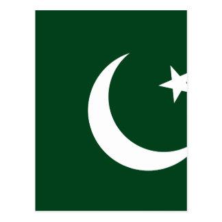 Niedrige Kosten! Pakistan-Flagge Postkarte
