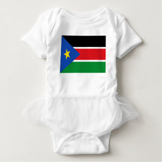 Niedrige Kosten! Südsudan-Flagge Baby Strampler