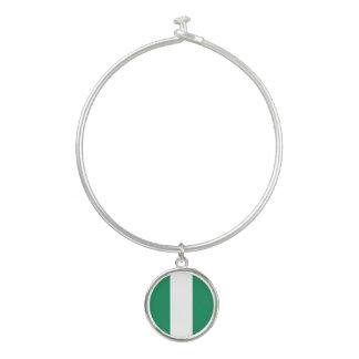 Nigeria-Flagge Armreif