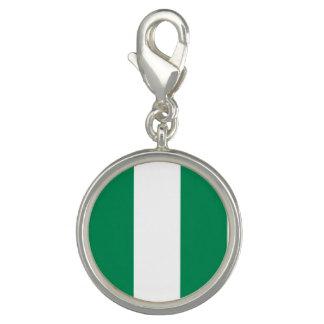 Nigeria-Flagge Charms