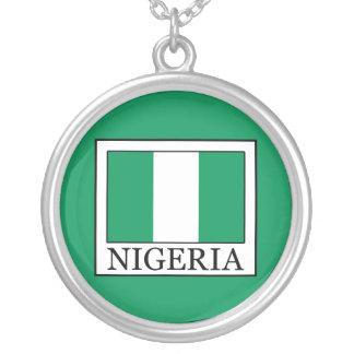 Nigeria Versilberte Kette