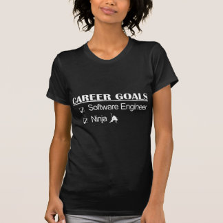 Ninja Karriere-Ziele - Software Engineer T-Shirt