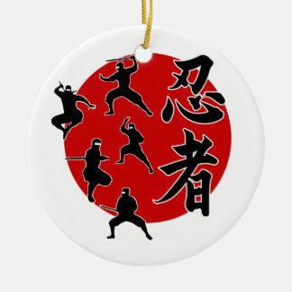 Ninja Keramik Ornament