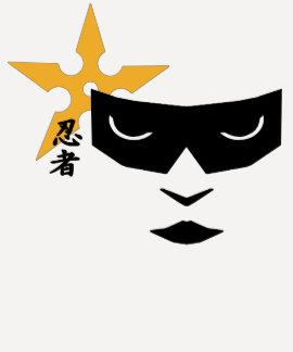 Ninja-Mädchen Tshirts