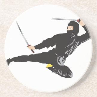 Ninja Tritt Untersetzer