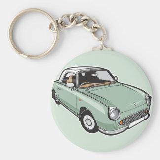 Nissan Figarosmaragdgrün Schlüsselanhänger