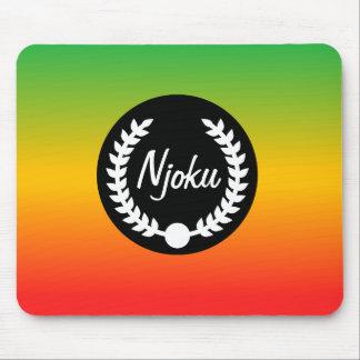 """Njoku Reggae-Steigung """"Kranz"""" Mousepad. Mauspads"""