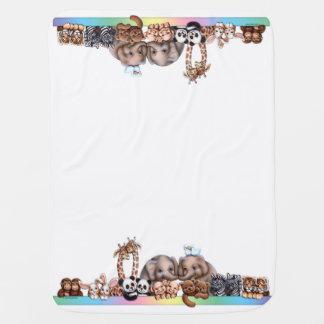 Noahs Arche-Aufstellungs-Decke Babydecke