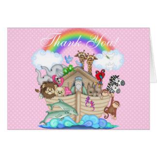 Noahs Arche danken Ihnen Anmerkungen Karte