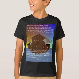 Noahs Arche (mit Scripture) scherzte T - Shirt