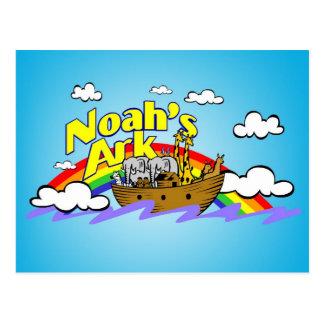 Noahs Arche-Postkarte Postkarte