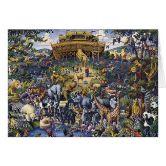 Noahs Arche-Tiere Karte