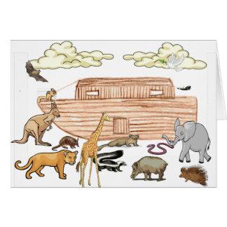 Noahs Archekarte Karte