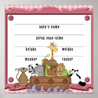 Noahs Bogen-Baby Poster