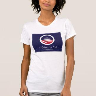 NObama für Shirts NObama 08 Präsidenten-08 Wahl