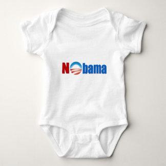 Nobama - kein Obama Baby Strampler