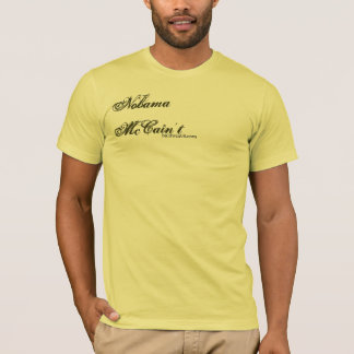 Nobama   McCain't: Konstitution - besonders T-Shirt