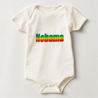 Nobama Regenbogen-politische Geschenke Baby Strampler