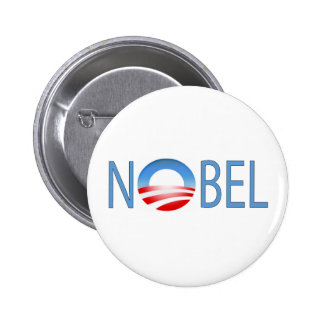 NOBEL OBAMA RUNDER BUTTON 5,1 CM