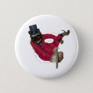 noble Trägheit Runder Button 5,7 Cm